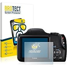 [1 Pack] Canon PowerShot SX540 HS Protection Verre - AirGlass Film Protecteur écran Vitre