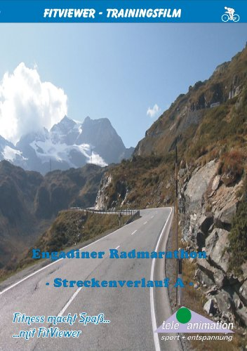 Engadin cycle marathon - Route 1 - FitViewer Indoor Video Cycling Swiss