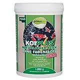 primuspet NEUHEIT KOIPLUS Natürlicher Teich ohne Fadenalgen (GRATIS Lieferung in DE - Verdrängt Fadenalgen ohne chemische Zusätze im Gartenteich), Inhalt:1 kg