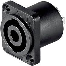 Acoplamiento cuadrado para altavoces PA, 4 contactos 11 unidades