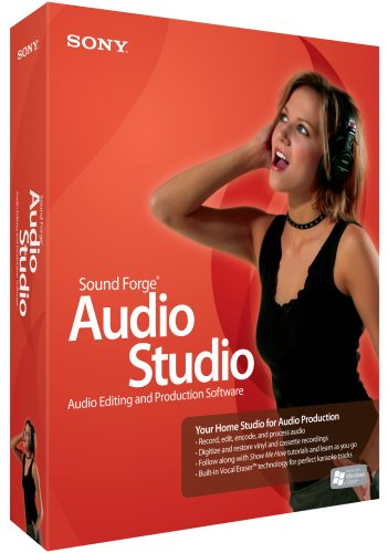 Sony Sound Forge Audio Studio 9 (PC) Test