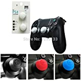 White : CQC Thumb Grip Joystick Cap Thumbstick Cover for PS4 for PS4 Slim for PS4 Pro Dualshock 4 Controller
