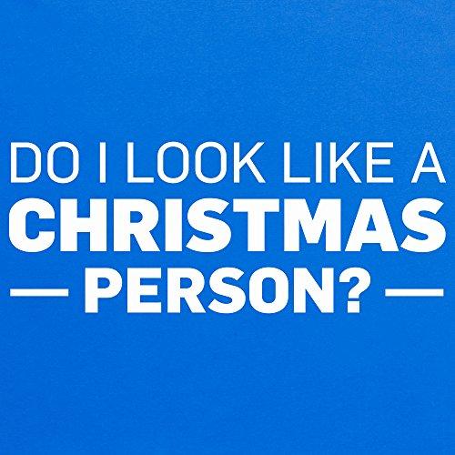 Not A Christmas Person T-Shirt, Herren Royalblau