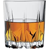 #1: Pasabahce Karat Whisky Glass Set, 300ml, Set of 6, Clear