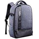"""K&F Concept Camera Backpack, Professional Large Capacity Waterproof Photography Bag for DSLR Cameras,15"""""""