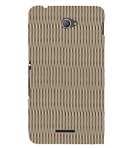 Ebby Premium 3d Desinger Printed Back Case Cover For Sony Xperia E4 (Premium Desinger Case)