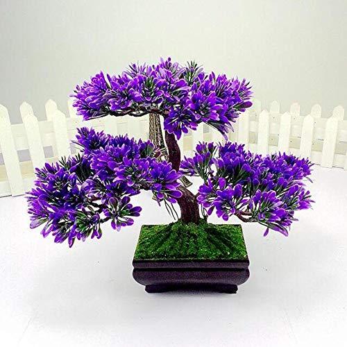 LWBAN-Flower Dekorative Blumen Dekorative künstliche Bäume mit Blüten, 36, 1
