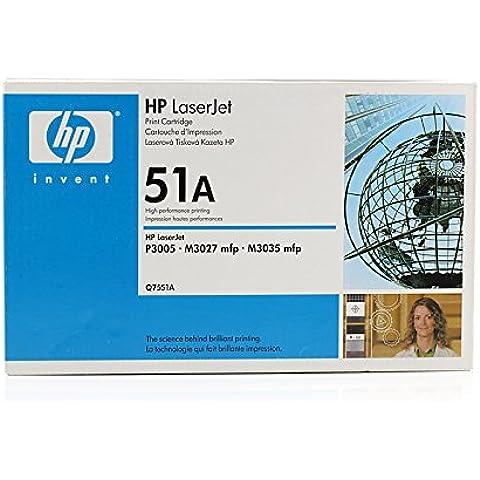 HP LaserJet P 3004 - Original HP Q7551A / 51A