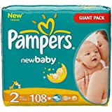 Pampers Baby Dry Mini 2 Taille 3–6 kg jusqu'à 648 Stk.
