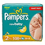 Pampers Baby Dry 2 Gr. 3-6 Kg   108