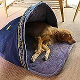 Poetryer Pet Dog Sacco a Pelo Pet Plush Impermeabile e Antivento, Caldo e Leggero Morbido Pieghevole Nido Cuccia per Cani e Gatti di Piccola, Media e Grande