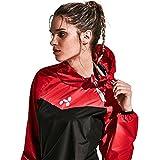 HOTSUIT Tuta Sauna Allenamento Ginnastica Fitness Dimagrimento Donne (Red,XXL)