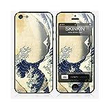 Skinkin Sticker iPhone 5 de chez Design original : The Great Wave par Katsushika Hokusai