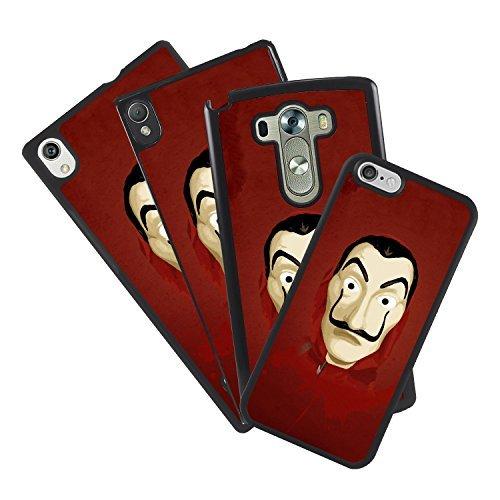 Funda carcasa todos los móviles diseño propio serie La Casa de Papel Careta Salvador Dali netflix para movil IPhone 7