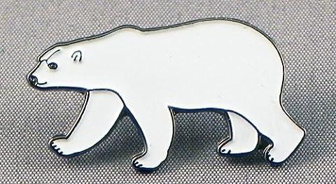 Metal Enamel Pin Badge Brooch Polar