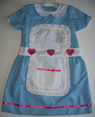 Imagen de niña disfraz de enfermera y estetoscopio set 5 años de edad 6 7 años alternativa