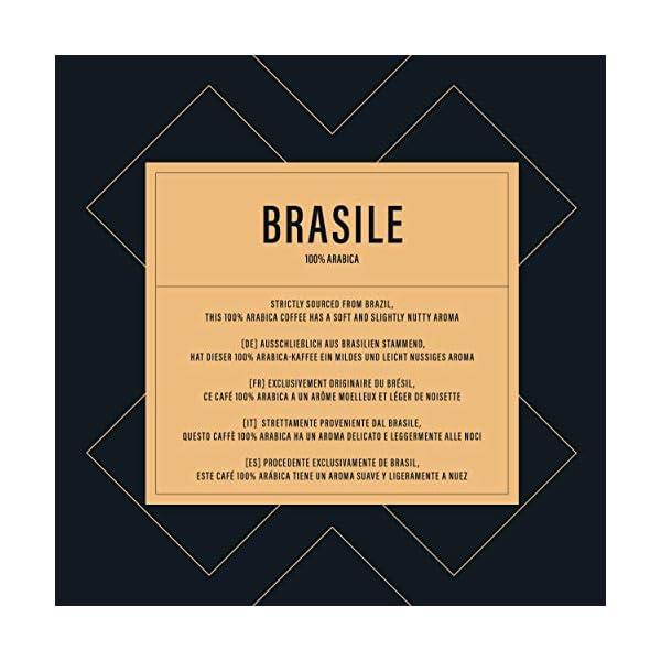 """Marchio Amazon - Happy Belly Caffè tostato macinato """"BRASILE"""" (4 x 250g) 5 spesavip"""
