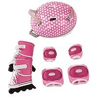 Gotz 3402277 Doll Inline Skates Set Size XL - Dolls Accessory Set - Suitable For Standing Dolls Size XL (45 - 50 cm) - Suitable Agegroup 3+