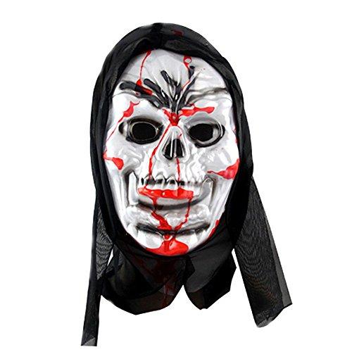 ParttYMask Maskerade,Horror Geistermaske Vampir Vollgesicht Outfit C6 ()