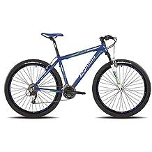 "'Legnano vélo 610Val Gardena 29""Disque 21V taille 52Bleu (VTT ammortizzate)/Bicycle Val Gardena 29Disc 21S Size 52Blue (VTT Front Suspension)"