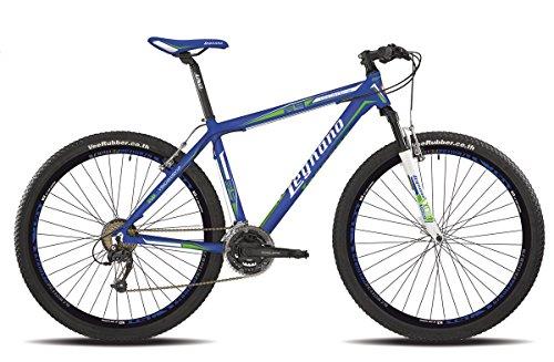 Legnano bicicletta 610 Val Gardena 29'' disco 21v taglia 52 blu (MTB Ammortizzate) / bicycle Val Gardena 29' disc 21s size 52 blue (MTB Front suspension)