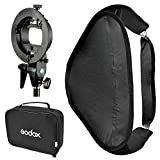 Godox SFUV4040 Portable Assembly Collapsible Diffuser Softbox Kit with S-Type Bowens Flash Bracket