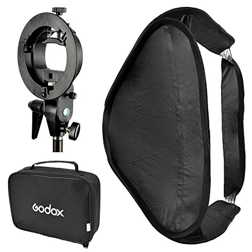 Godox SFUV6060 Portable Assembly Collapsible Diffuser Soft Box Kit with...