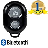 #6: Rextan Bluetooth Wireless Remote Shutter Photo Clicker Controler Compatible With IOS and Android Smartphones (One Year Warranty)