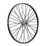Taylor-Wheels 26 Zoll Vorderrad Büchel Kastenfelge Alunabe Vollachse Schwarz