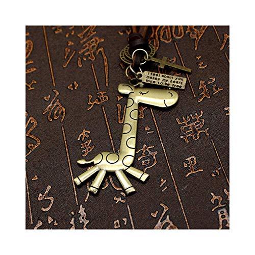 Styliee bracelet Armband Armreif, Schmuckgeschenk, All Match Sweater Chain Long Temperament Design Love Sweater Necklace Elephant Pendant Key for Women Men as picture11