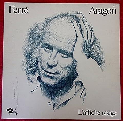 Les Chansons D'Aragon - L'affiche rouge. Leo Ferre, Jean Michel Defaye Stereo