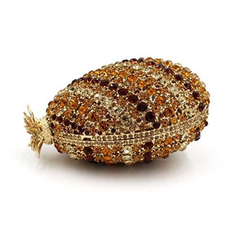 Borsa Di Cristallo Borsa Da Sposa Borsa Da Sera Di Lusso Del Diamante Delle Donne OneColor