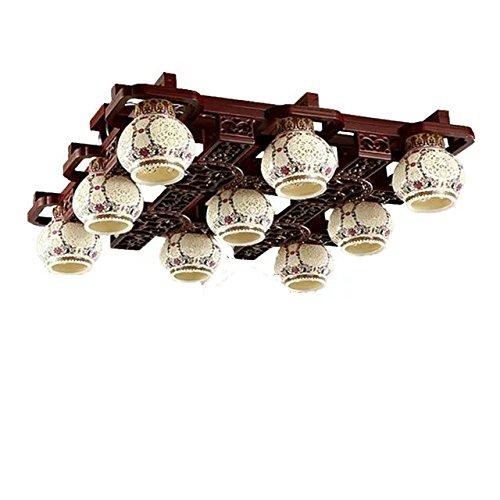 rot-geblasenhlzernenkronleuchter-leuchter-beleuchtung-decke-lampe-pendelleuchteunterglasurpastellfar