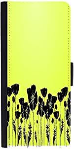 Snoogg Grass And Poppy Designer Protective Flip Case Cover For Samsung Galaxy...