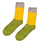 Alini AIni Frauen Baumwollsocken Dicker Anti-Rutsch Korallen Fleece Fußbodensocken Carpet Socks Damen Socken