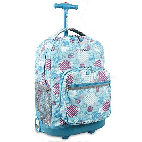 JWS-49 FUNKY J World New York Cornelia Laptop Backpack Sac à Dos Loisir Funky Multicolore 29.5 liters 19 cm