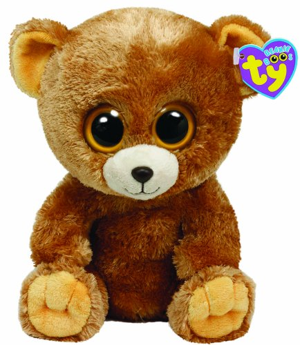 Beanie Boo Bear - Honey - 15cm 6""