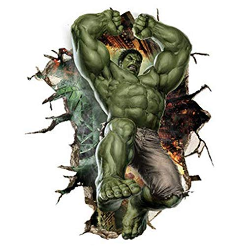 JUNMAONO Hulk Pegatina De Pared/PVC Póster De Pared/Mural/Decoración