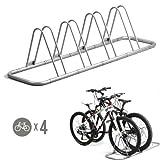 4 Bike Bicycle Floor Parking Rack Storage St - Best Reviews Guide
