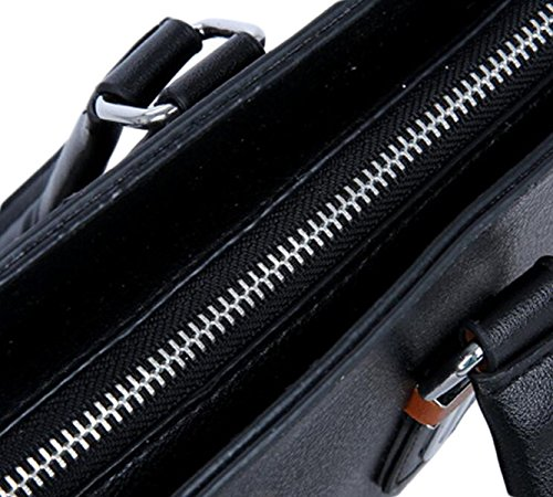 Borsa A Tracolla In Pelle PU Diagonale Di Fascia Alta Di Business Zaino Casuale Mostra Industria Laptop Bag Maschile C