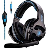 SADES SA810 Xbox One Gaming Headphones with Microphone & PC Adapter (PS4)