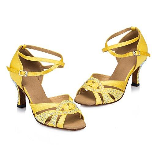 TDA - Strap alla caviglia donna Yellow
