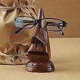 Madera en forma de nariz Gafas / Funda Para Gafas / Soporte