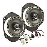 tomzz Audio  4015-000altavoz Set de instalación para Ford Varios. Modelos Fiesta KA Focus Mondeo 165mm