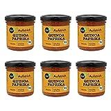 Nabio Quinoa Paprika - Bio Brot-Aufstrich - vegan, 6er Pack (6 x 140 g)