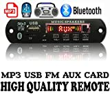 #4: Bluetooth FM USB AUX Card MP3 Stereo Audio Player Decoder Module Kit with Remote