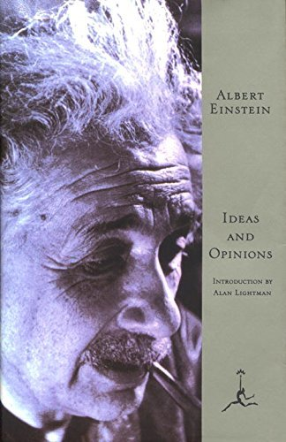 Portada del libro Ideas and Opinions (Modern Library) by Albert Einstein (1997-06-30)