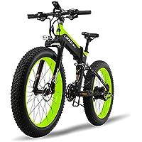 MERRYHE 26 * 4.0 Fat Tire Road Bicicleta Plegable 48V 500W Hombres Mountain Ebike 27 Velocidad