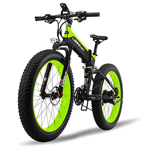 51V3ixJFbmL. SS500  - MERRYHE 26 * 4.0 Fat Tire Road Bicycle Folding 48V 500W Men Mountain Ebike 27 Speed Beach Snow Road Bikes Citybike Electric Bike Removable Lithium Battery