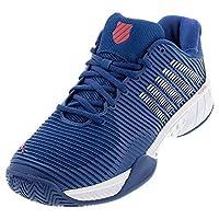 K-Swiss Hypercourt Express 2 Mens Tennis Shoes, Dark Blue/White/Bittersweet (US Size 10)